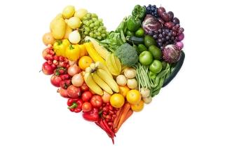 Fruit and Veg Heart